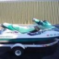 1996 GTX Seadoo , Will move in water at an idle But over
