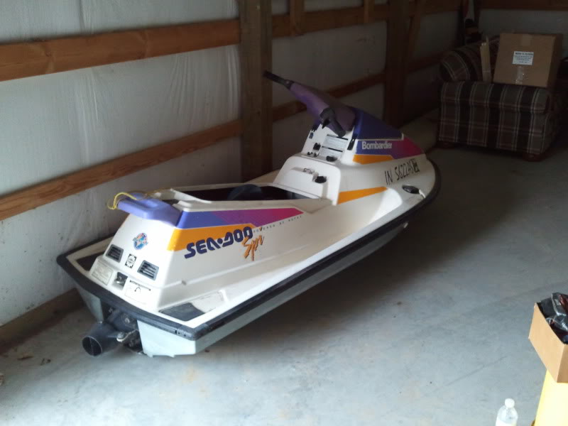 1991 Sea Doo Spi    Come Get It  I Want It Gone