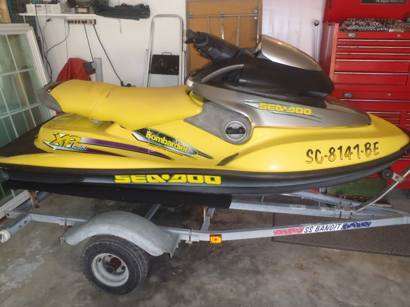 diffrences in xp/xp limited  and 97/98 | Sea-Doo Forum