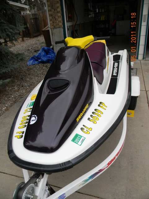 what 2-stroke sea doo model is known to have the least