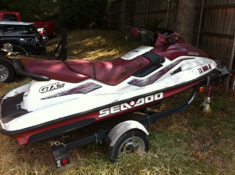 1999 GTX Limited that has been sitting for 7 years (pics) | Sea-Doo