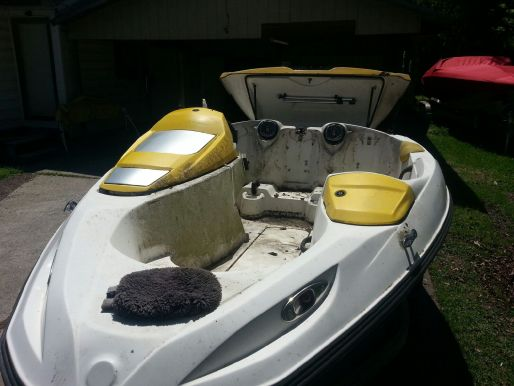 Starting My jetboat parts ad: 1998 speedster sk part out