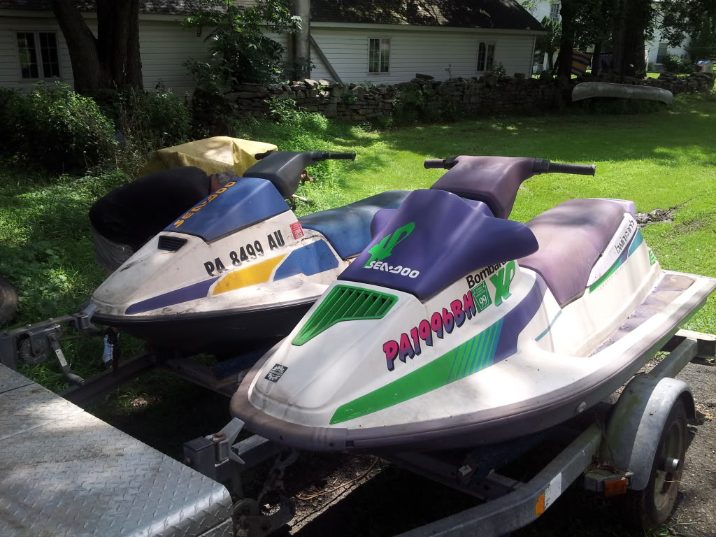 Back In 1992 The 89 SP Was My First Ski 2 Years Later I Bought 91 XPI Still Have Them 23 Of Seadoo Ownership