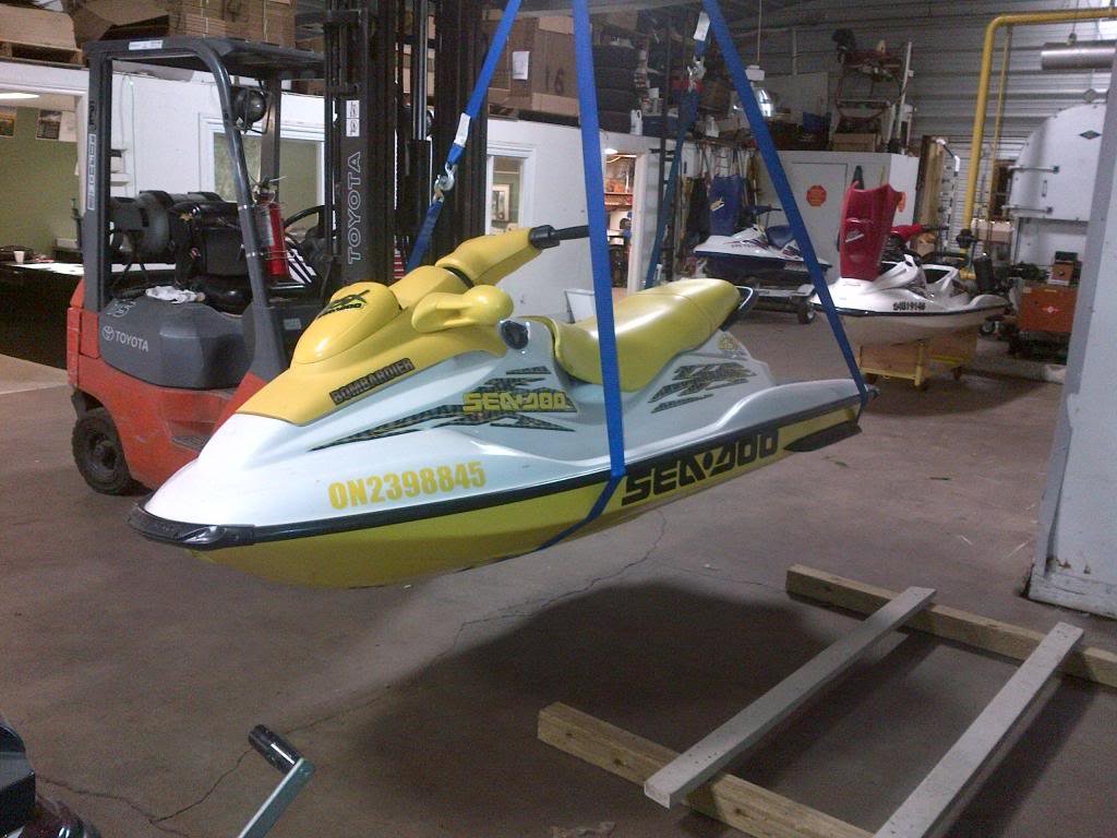 Rc Boat Trailer For Sale Cheap together with Video Meet The Beach Rover The Ultimate  c Dolly also Jet Ski Hoists And Stands further Ideas Homemade Boat Mover besides Images. on jet ski dolly plans