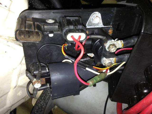 387 somebody hacked up my rear electrical box (vts not working 1996 Seadoo XP at gsmportal.co