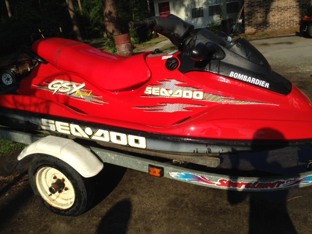 1999 Seadoo GSX Limited Will Not Rev Over 3350