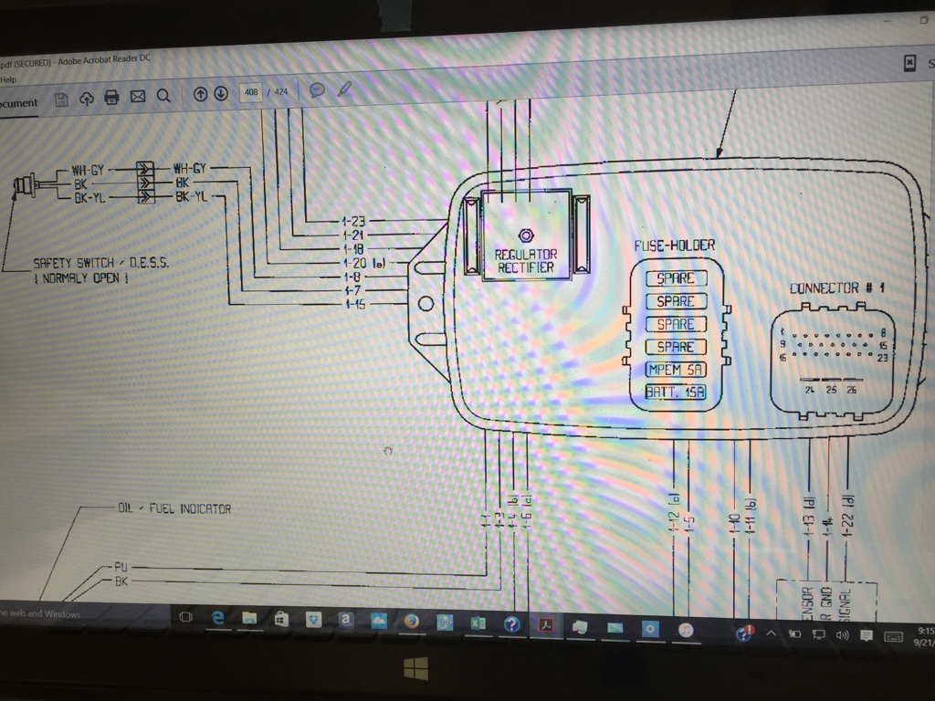 Seadoo Wiring Schematics Diagrams 2001 Yamaha Ox66 Diagram Schematic 1998 Gts Wires To Mpem Sea Doo Forum Rh Seadooforum Com 1996 Gtx