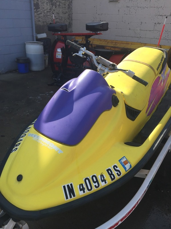 Removing spray paint from your plastic parts   Sea-Doo Forum
