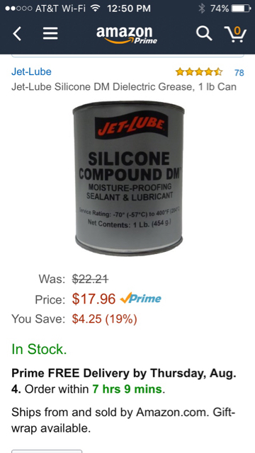Sil-Glyde -Cheaper Easier to Find Silicone Grease