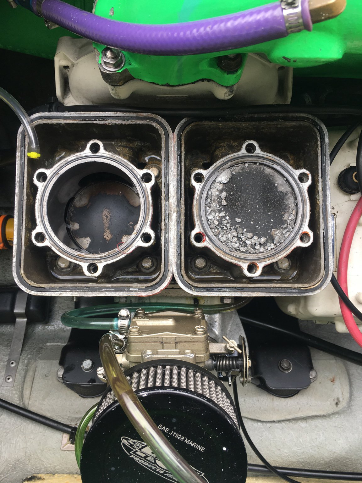 1992 seadoo sp wont start, only cranks over one time | Sea